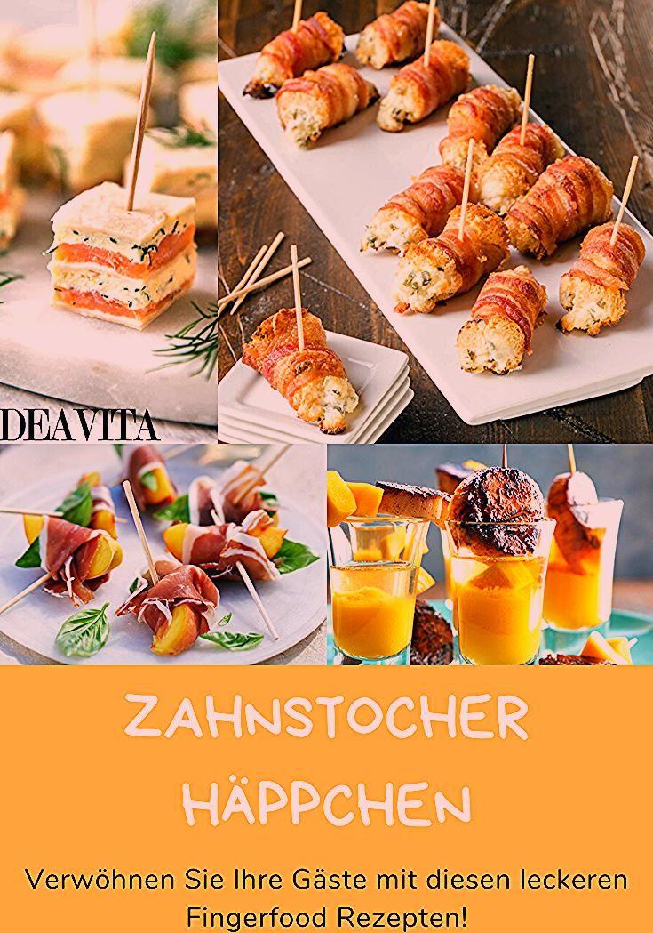 Photo of Zahnstocher Häppchen: Viele leckere Fingerfood Rezepte für Ihre nächste Party!
