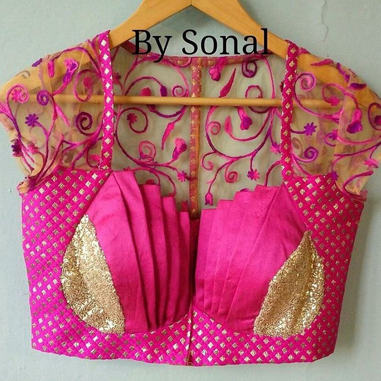 See this Instagram photo by @daga_sonal • 15 likes | Blouse court ...