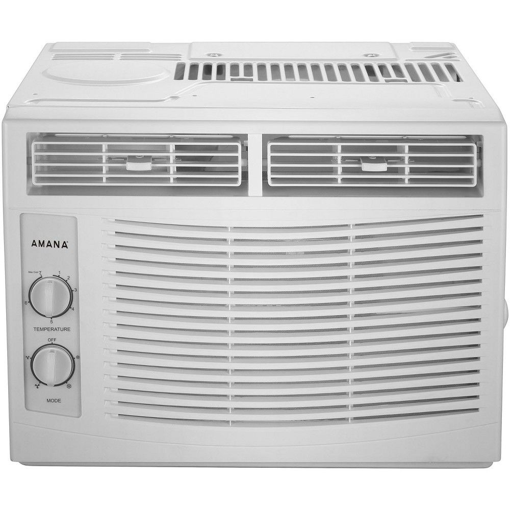 Amana 5,000 Btu Window AC with Mechanical Controls White