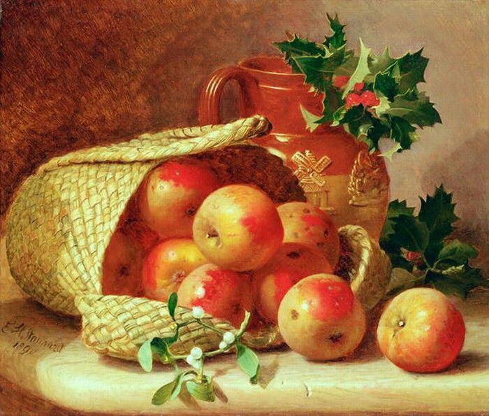 Рождественские яблоки