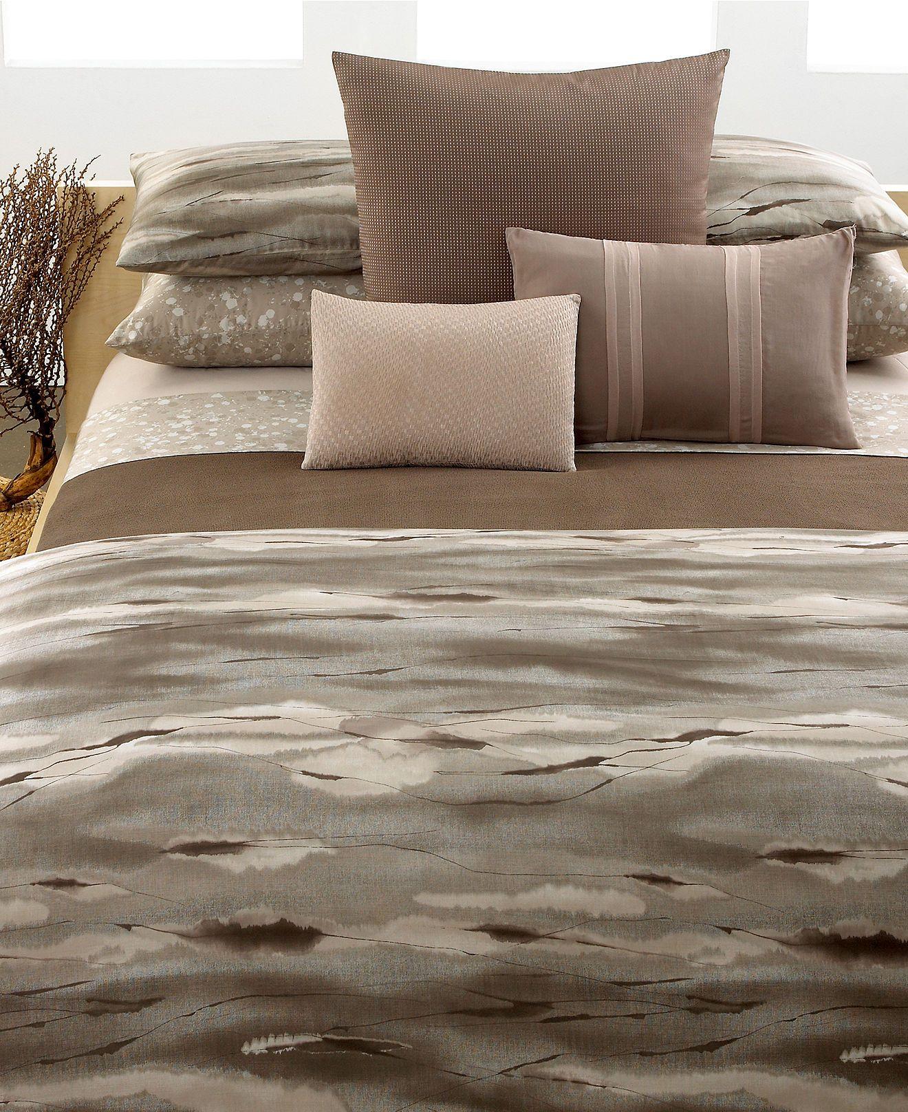 calvin klein home bedding tanzania collection sale bedding collections bed u0026 bath macyu0027s