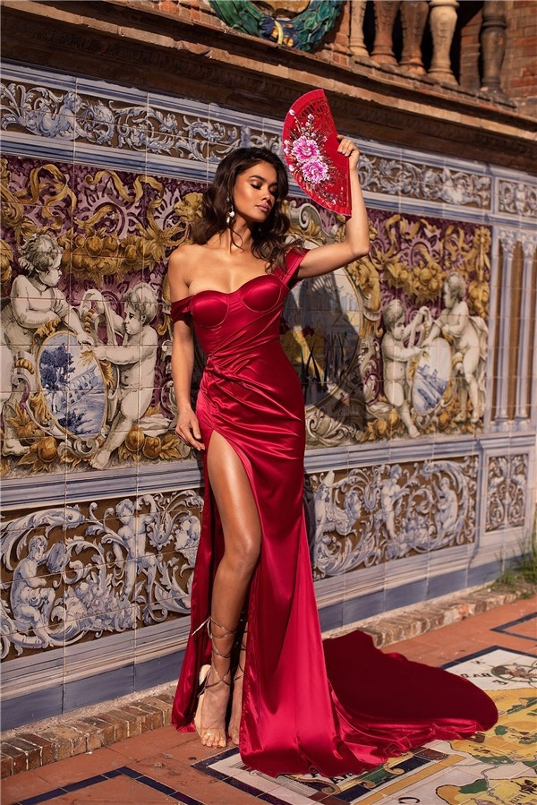 Pin On Red Prom Dresses