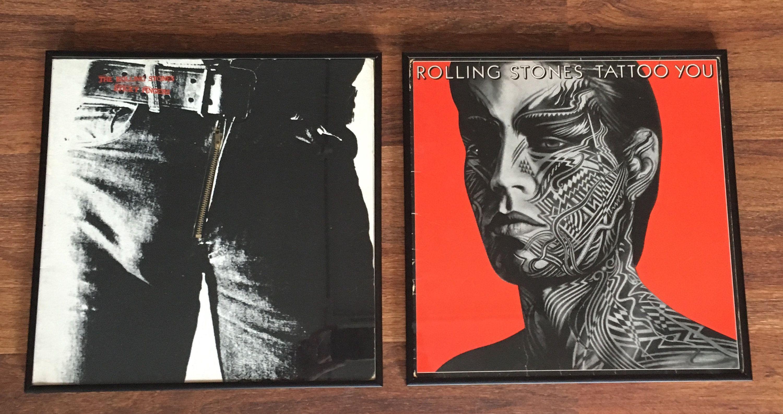 rolling fingers album stones sticky tattoo zipper