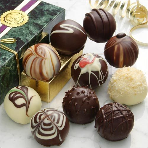 Gourmet Chocolate Truffles | gourmet chocolate a box full of chocolates to show your partner how ...