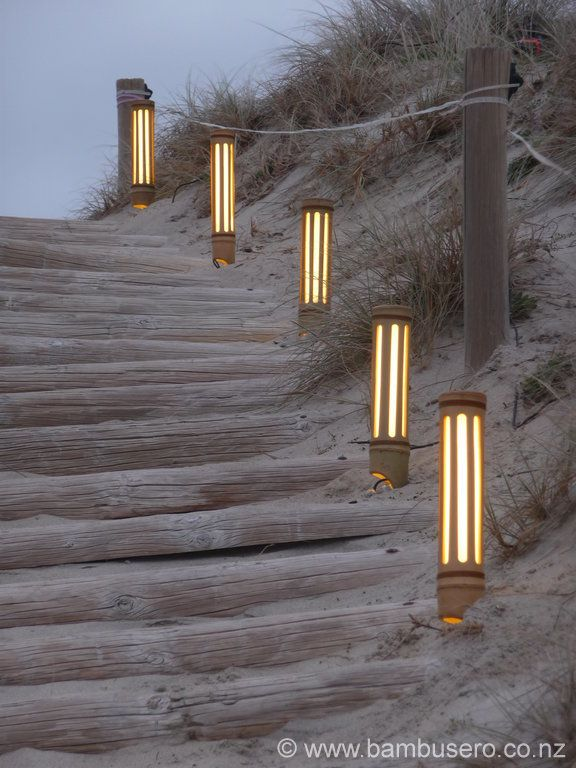 Bamboo Lights | Indoor Outdoor Lights | New Zealand | Bambusero | Areas Livres | Pinterest ...