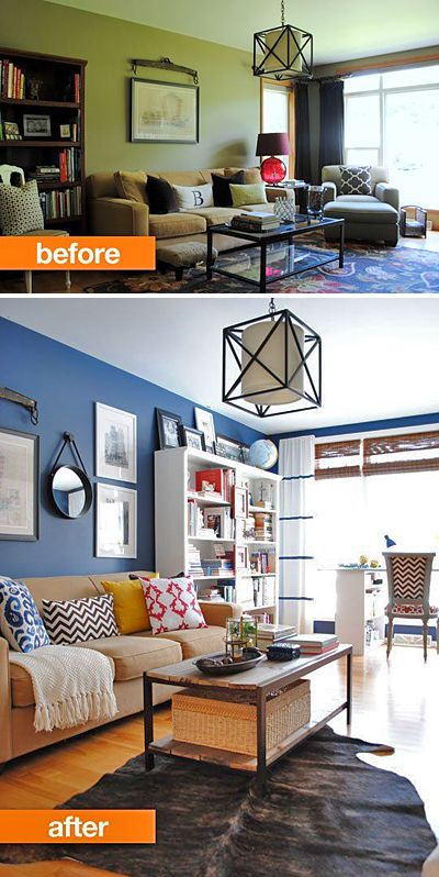 Best Small Living Room Makeovers Living Room Makeovers Before 640 x 480