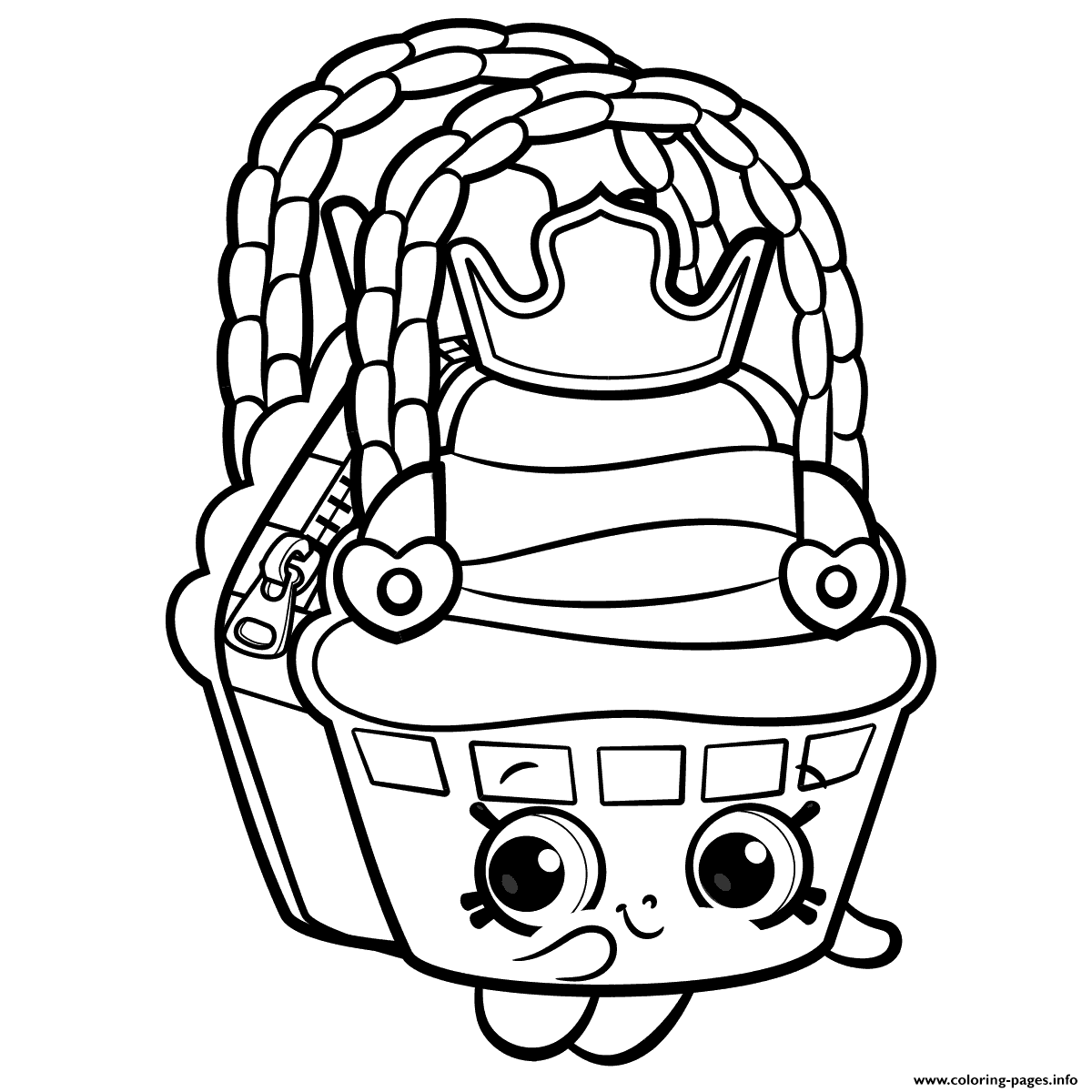Print Cute Shopkins Season 8 coloring pages Shopkins