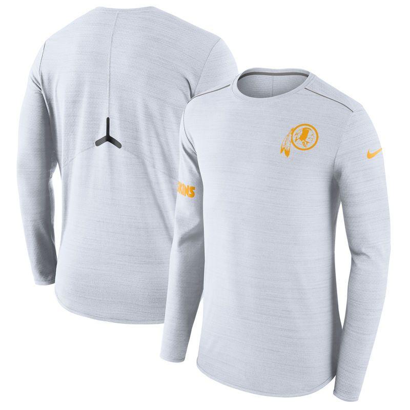 bd62f58c Washington Redskins Nike Color Rush Player Performance Long Sleeve T ...
