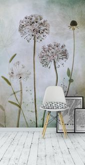 Blumentapete | Fototapete | Blume Wallpaper – #blume #blumentapete #fototapete #…