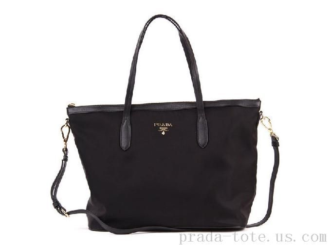 Authentic #Prada BR4257 Handbags in Black Outlet store