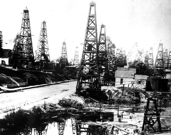 Oil Gas Geothermal History Trivia California History Los Angeles History Oilfield