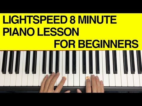 How to Play Chords on the Piano for Complete Beginners! (LIGHTSPEED 8 Minute Lesson) - YouTube