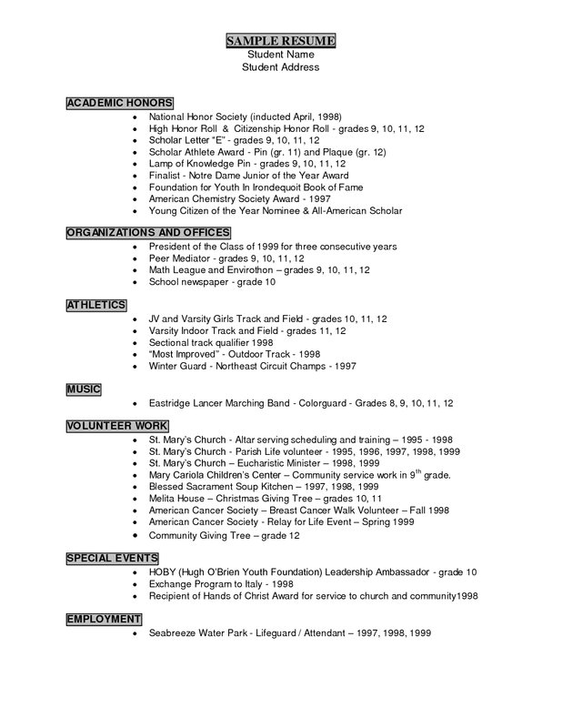 Resume Examples For Year 9 Students In 2020 Resume Examples Teacher Resume Examples Job Resume Examples