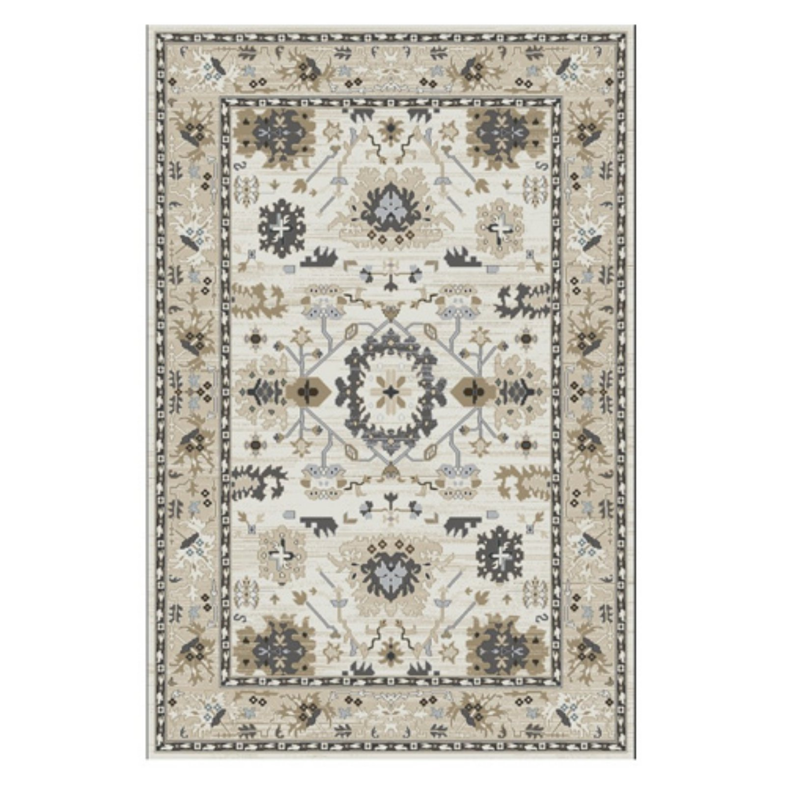 Dynamic Rugs Yazd 8531 Indoor Area Rug Ivory Dynamic Rugs Beige Area Rugs Indoor Area Rugs