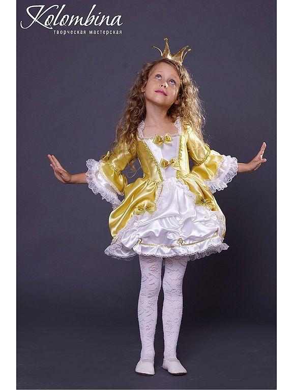 Купить карнавальный костюм принцессы - золотой, принцесса ... - photo#13