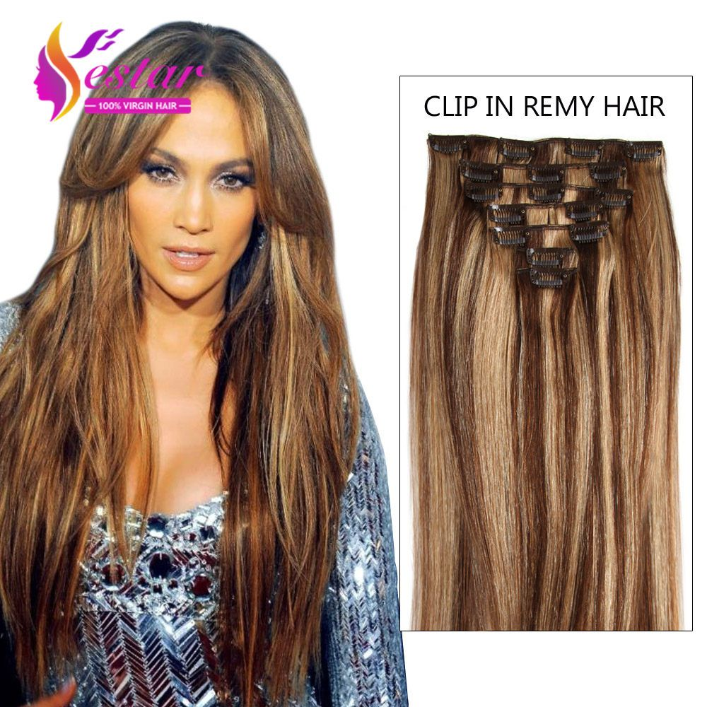 Aliexpress buy full head clip in human hair extensions online shop full head clip in human hair extensions brazilian straight hair clip in remy hair extensions real human hair clip thick set pmusecretfo Choice Image