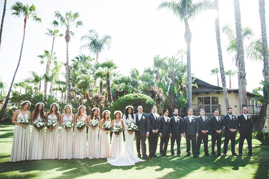 Bali Hai San Diego Wedding West Coast Wedding San Diego Wedding Moss Wedding