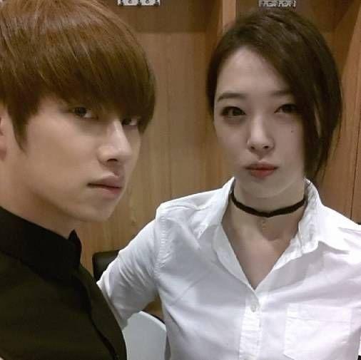 Heechul and Sulli :)