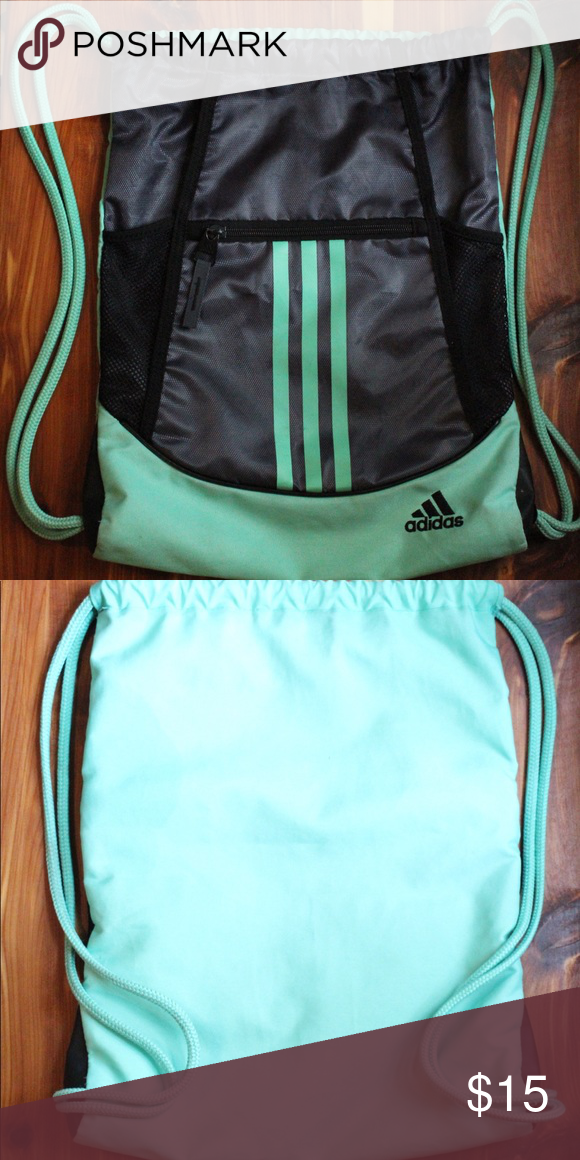 46f0d297c66 Adidas drawstring bag Adidas drawstring bag, very clean, lightly used. adidas  Bags Backpacks