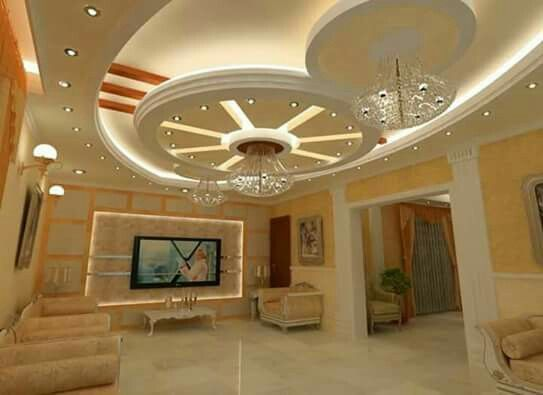 Pin By Suresh Babu On Tv Wall With Images Ceiling Design