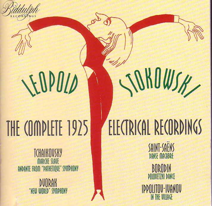 Leopold Stokowki - Cover for his complete 1925 recordings