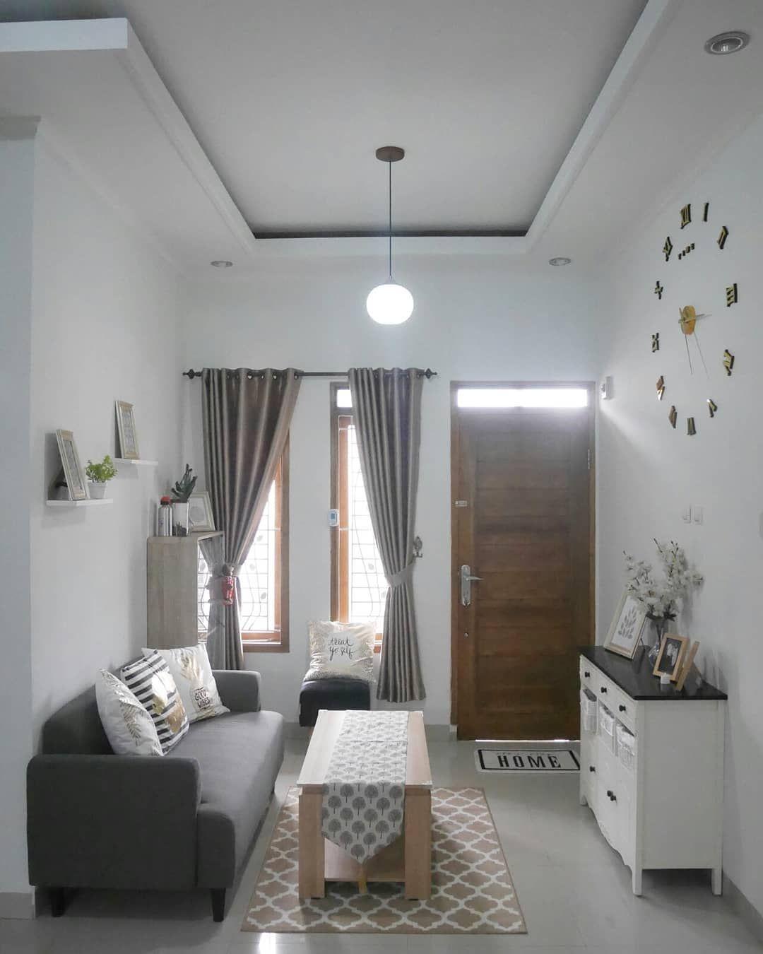 Gambar Mungkin Berisi Dalam Ruangan Ide Penataan Rumah Ruang Tamu Rumah Ruang Keluarga Kecil Living room ruang tamu