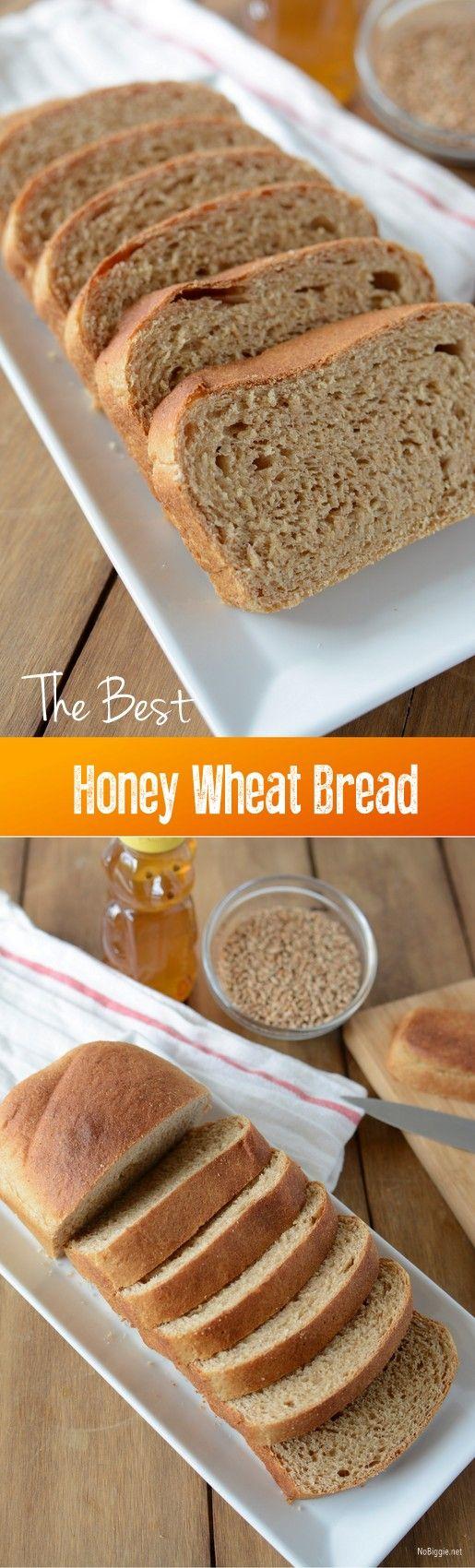 The best honey wheat bread   Recipe on NoBiggie.net