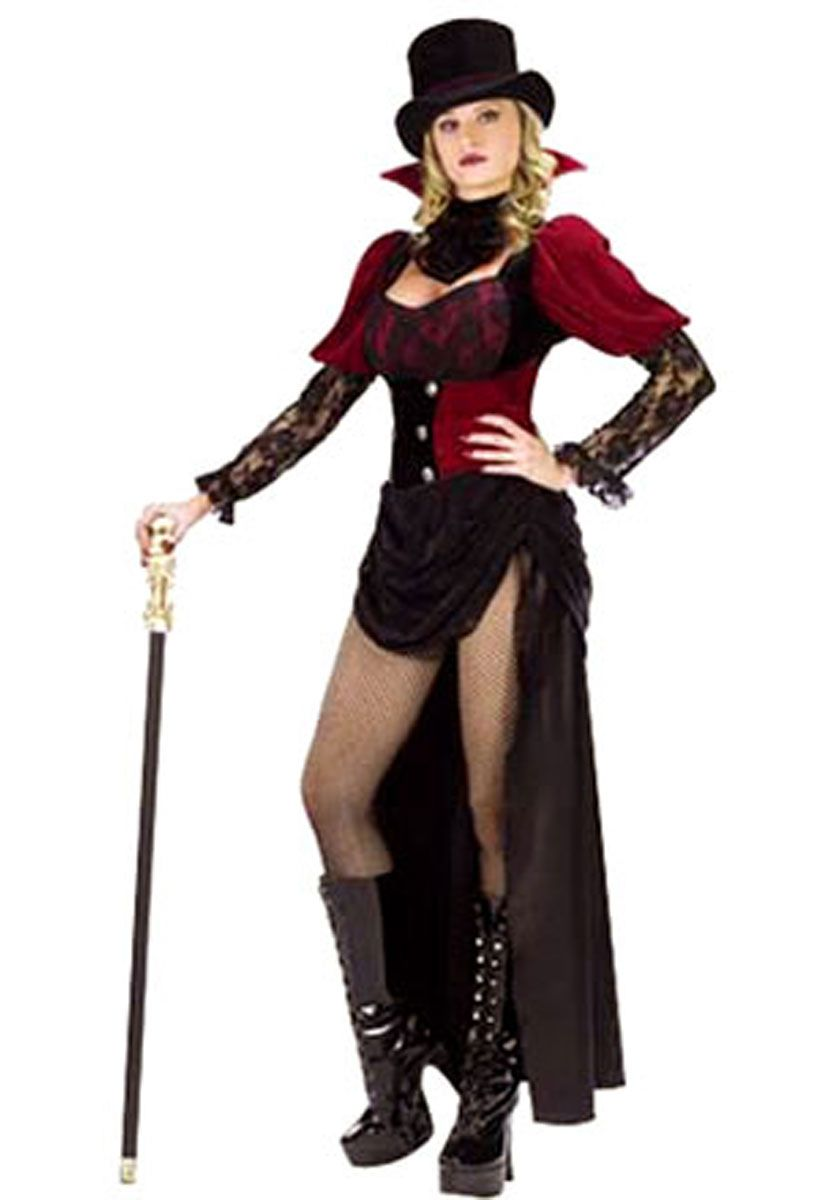 vampire victorian burlesque costume halloween costumes at escapade uk escapade fancy dress on - Halloween Costumes Victorian