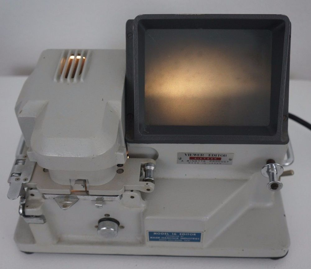 Details about Vintage Minette Viewer Editor Sixteen Model 1600 16mm