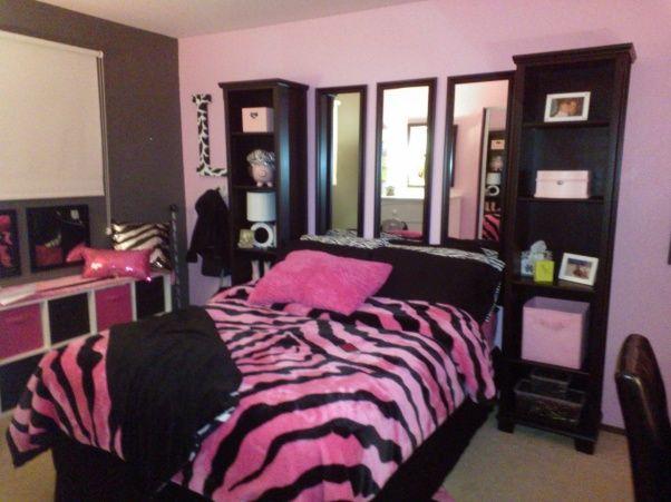 From Little Girl To Tween Zebra Print Bedroom Zebra Bedroom Diy Girls Bedroom