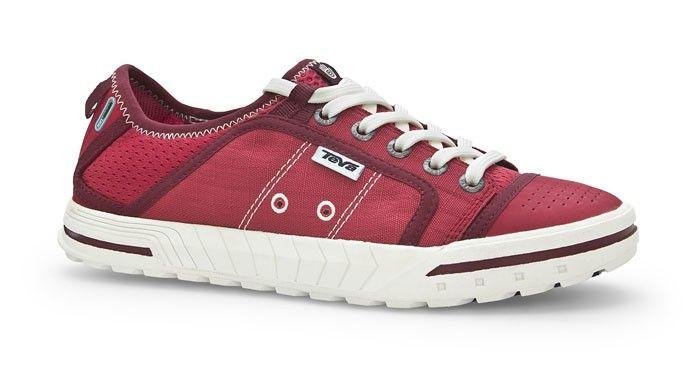 3e1d3a696 Teva Sandals Women s Fuse Ion Red Sandals Flip Flops