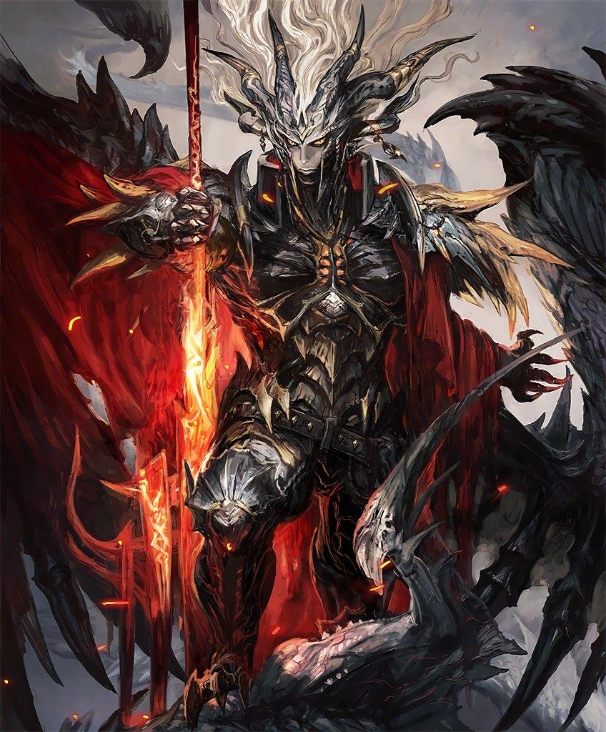 демонический рыцарь картинки подберет места, где