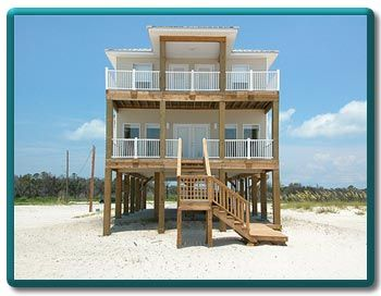 Beach House For Rent At Gulf Shores Alabama