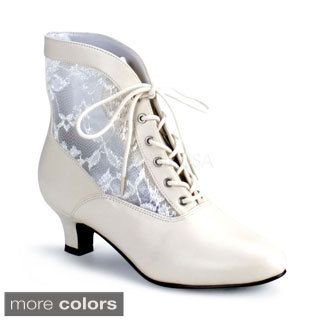 22d9ec3c9 Shop for Funtasma Women s  DAME-05  Heel Lace Victorian Ankle Boots and  more for everyday discount prices at Overstock.com - Your Online Shoes  Store!