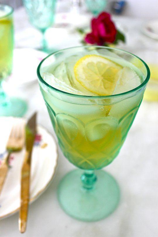 Honey Bourbon Lemonade