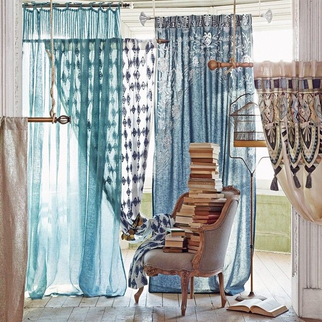 If you're due for a curtain update, consider this your window of opportunity. (link in profile to shop this shot)