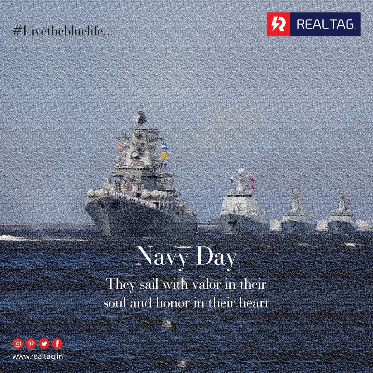 They Sail With Valor In Their Soul And Honor In Their Heart Indian Navy Day Realtag Livethebluelife Indian Navy Day Navy Day Indian Navy Day Indian Navy