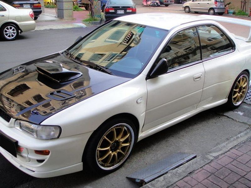 93 01 Jdm Frp Complete 22b Wide Body Kit Subaru Impreza Wrc Gc8 2 5rs Subaru