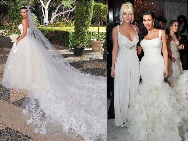 WEDDING VEILS Kim Kardashian Wedding Dress Price At Kim