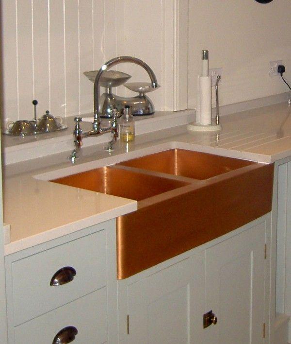Copper Kitchen Sink, I like it Home - Kitchen Pinterest Copper