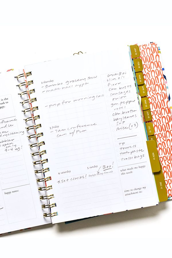 With tons of extra writing space and reminders of important dates