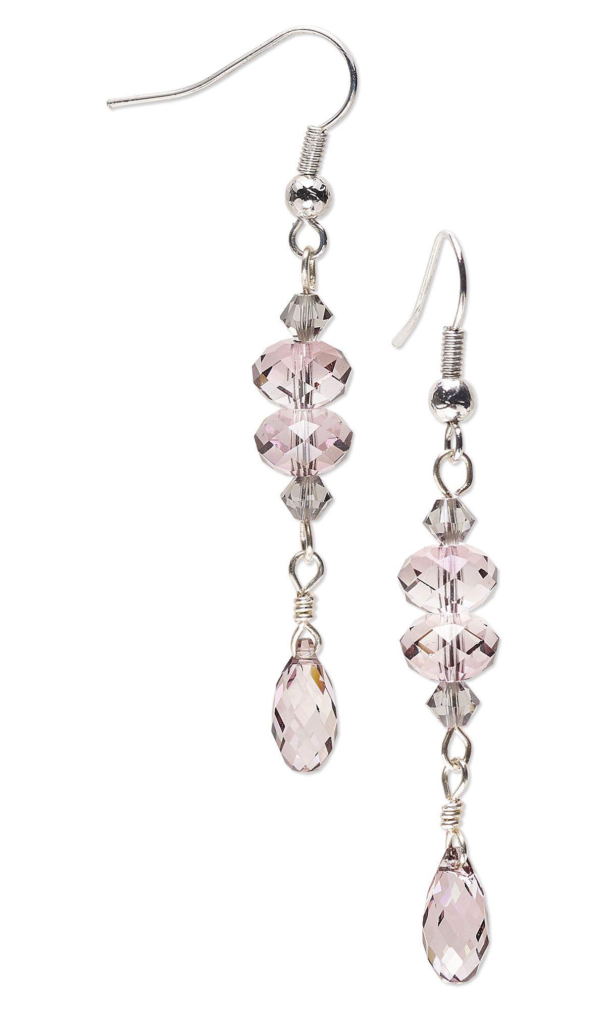 Jewelry Design Earrings with Swarovski Crystal Fire Mountain