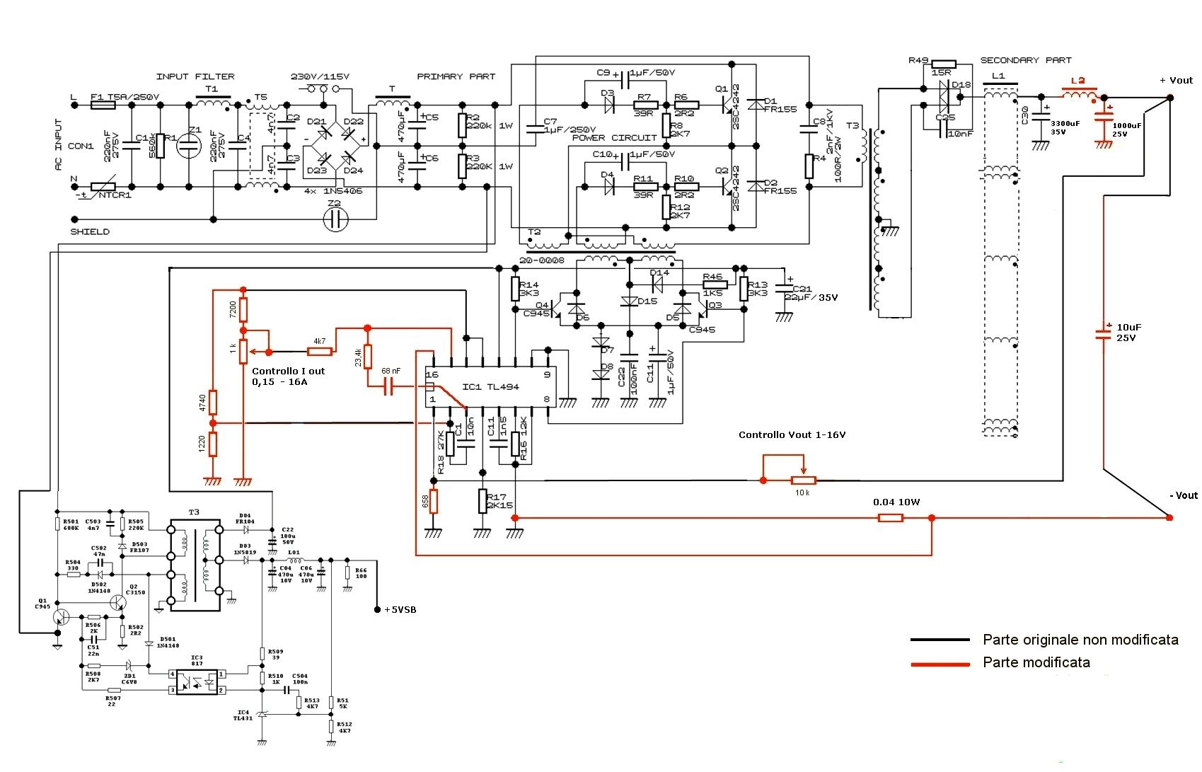 Pc Switching Power Supply Schematic Using Tl494lm339 Ic 2003 Amp Computer Diagram Wiring Library Component Assist Me In Designing A High
