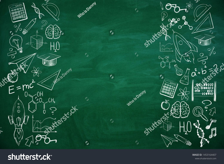 Green Fresh Geometric Education Background Design In 2020