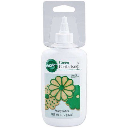 Wilton Cookie Icing, Green