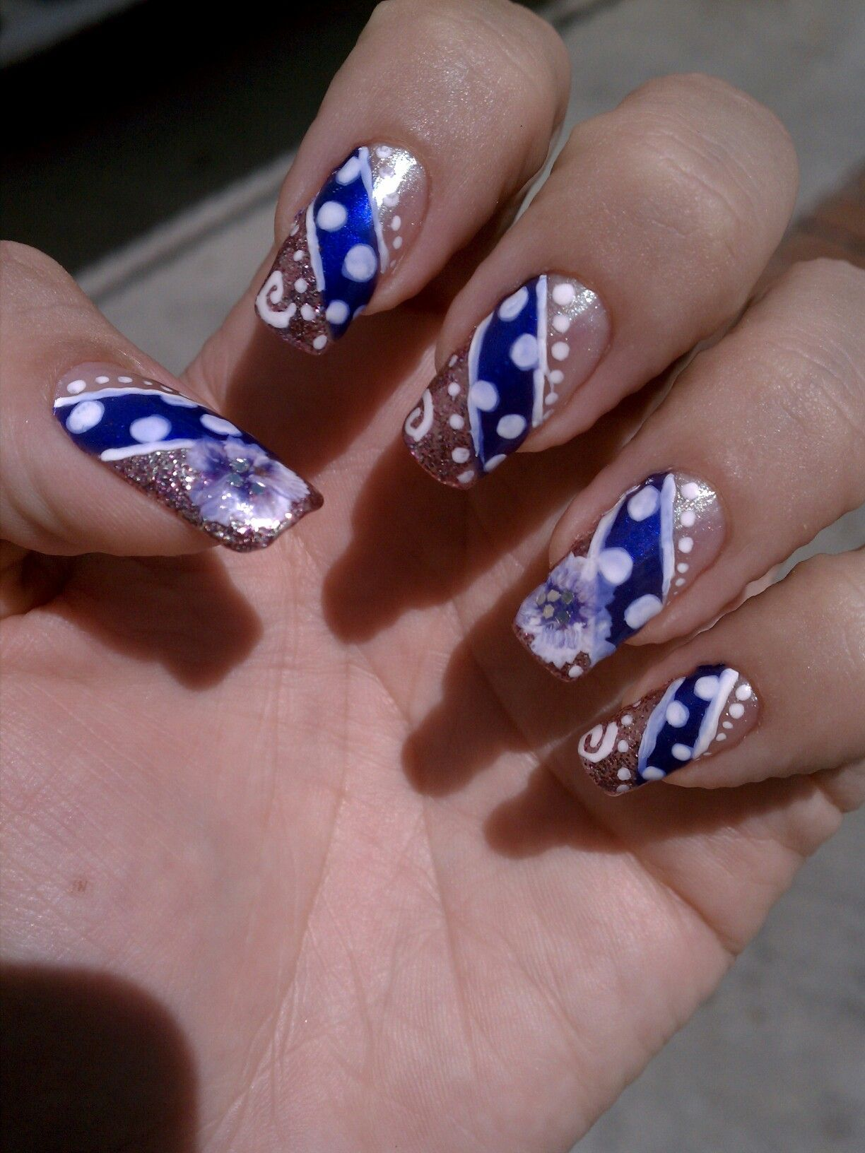 Inspired by Raquel (Love4nails)   Nails   Pinterest