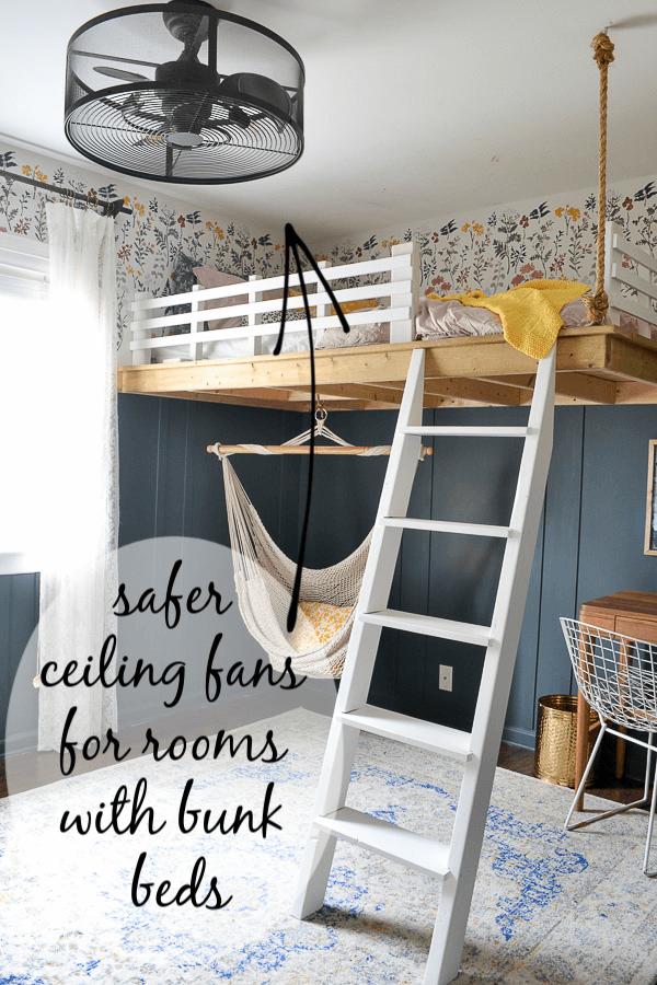 best ceiling fans for rooms with bunk beds diy loft bed girls bedroom modern plans bm cbb61 wiring diagram