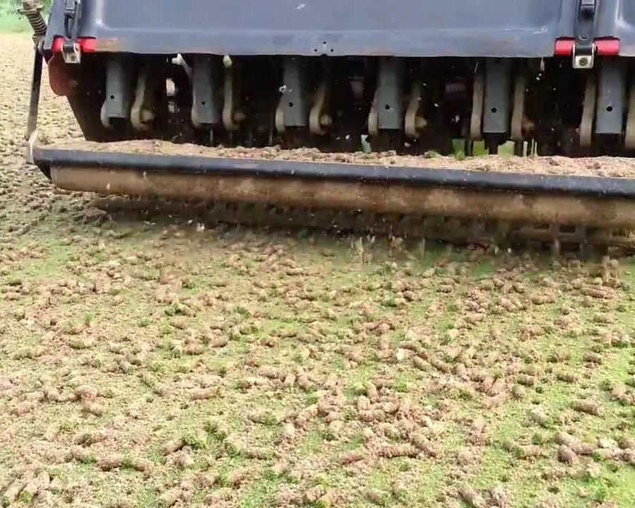 Why do golf courses aerate? Aeration help golf course grass breath and stretch out. By having compacted soil the healthy turf can struggle to grow and developed roots. Compacted soil can be created by foot traffic, weather and other factors. . . .