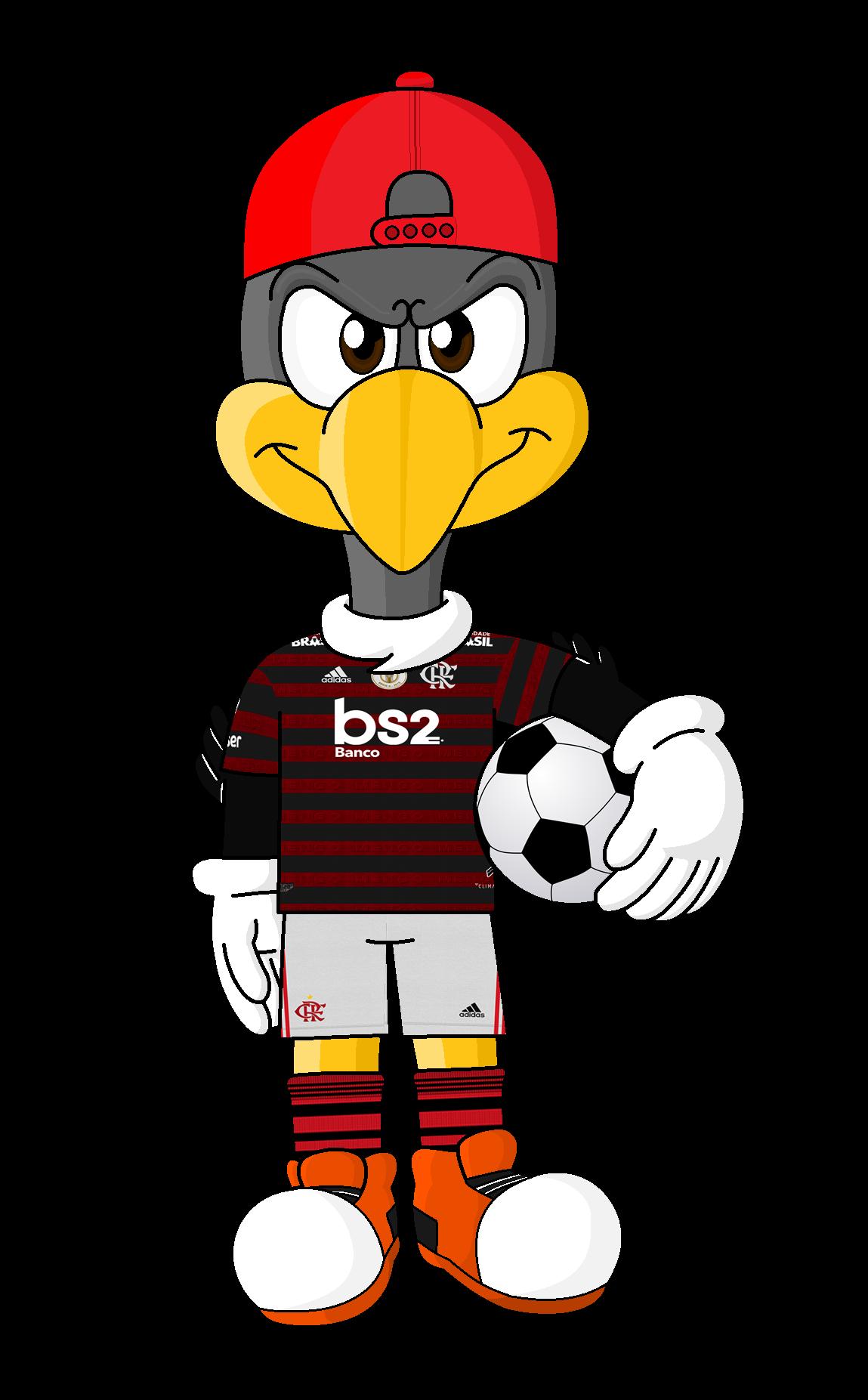Urubu Flamengo Mascote Bart Simpson Anthro Simpson