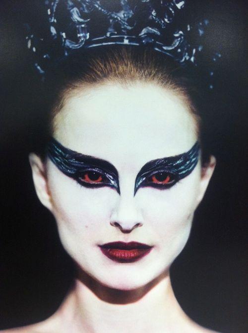 Black Swan Movie Ballet Halloween Make Up Idea Black Swan Black Swan Movie Black Swan Makeup